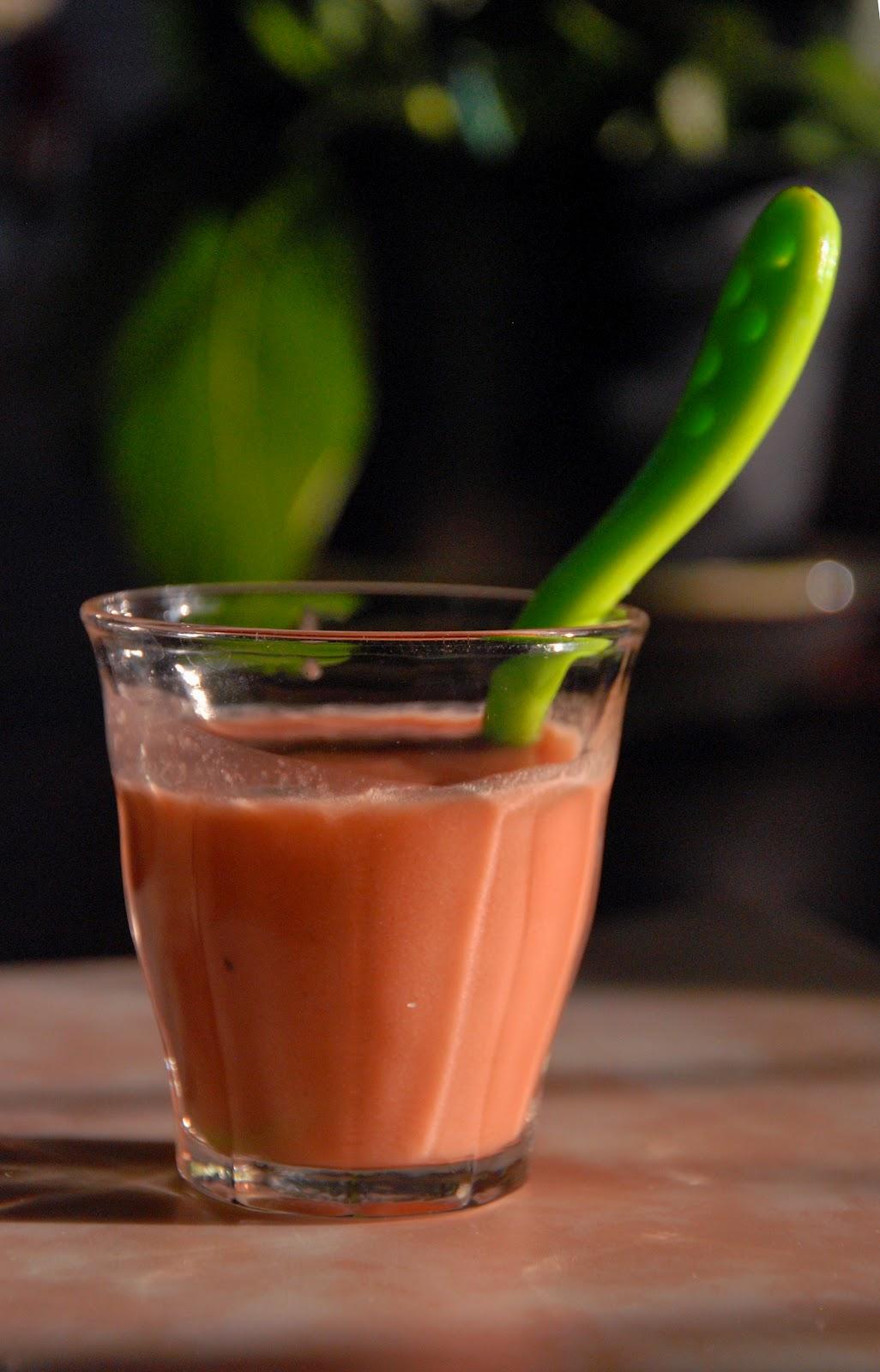 gazpacho in a glass