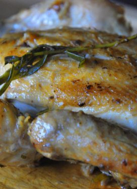 Be somebody… have a Cornish game hen