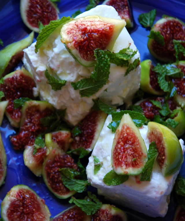 2 Fig Recipes : a salad and a savory tart