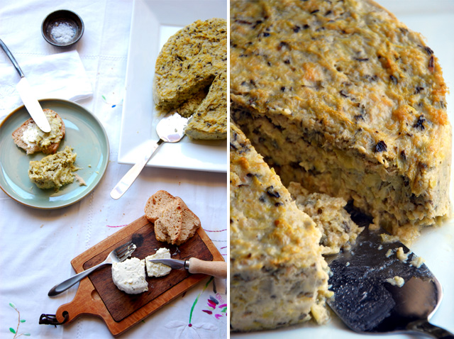 Zucchini & Mint Terrine… and thoughts on osmosis