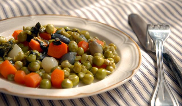 Peas and Carrots Jardinière