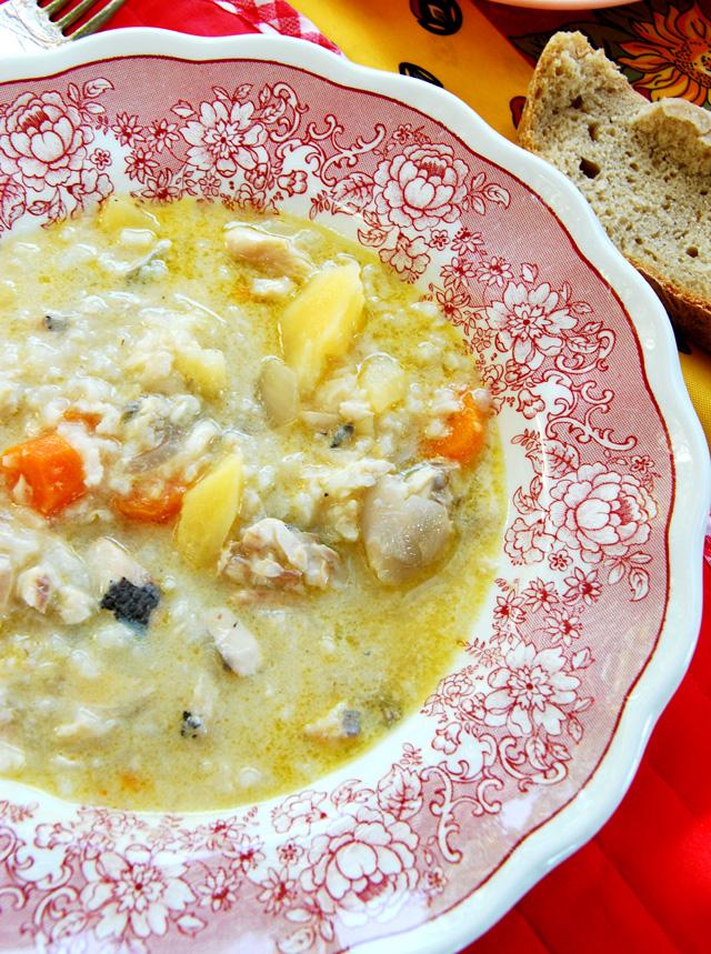 Lemony Fish Soup