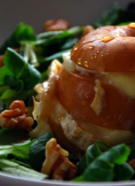 Baked apple & goat cheese… and rethinking the meaning of perfection