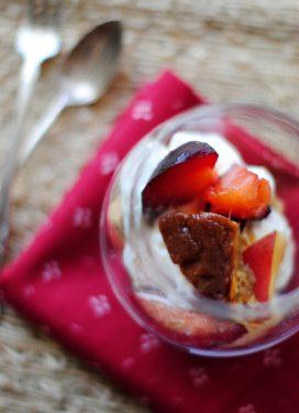 A sweet custard, a verrine, & our weekly menu