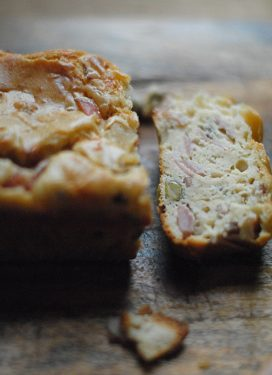 A simple Ham and Olive Bread perfect for the lunchbox