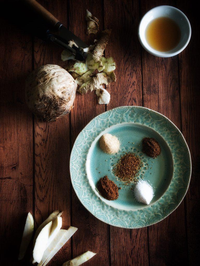 celeriac and spices