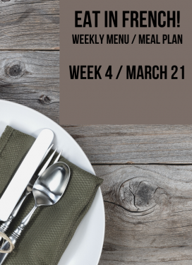 What's for dinner? Our family meal plan for this week!