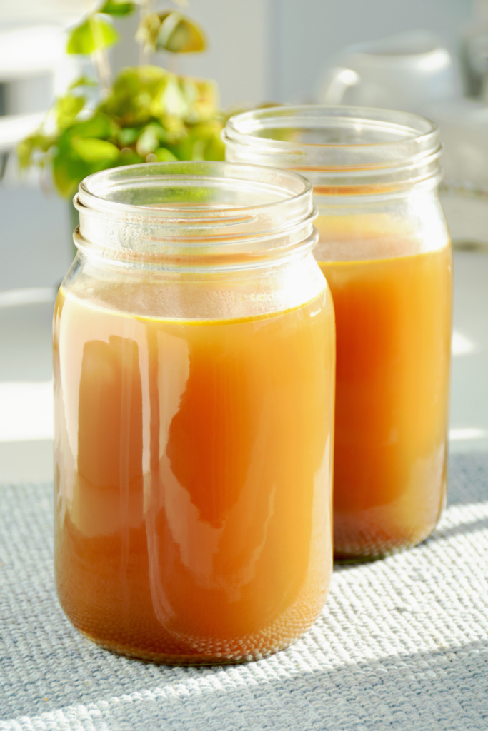jars of broth