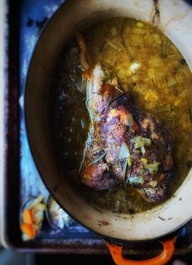 A Hygg-esque Slow-cooked Leg of Lamb recipe, and redefining slow living
